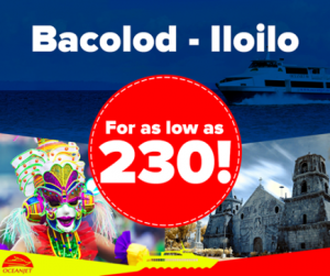 BAC-ILO LOW FARE